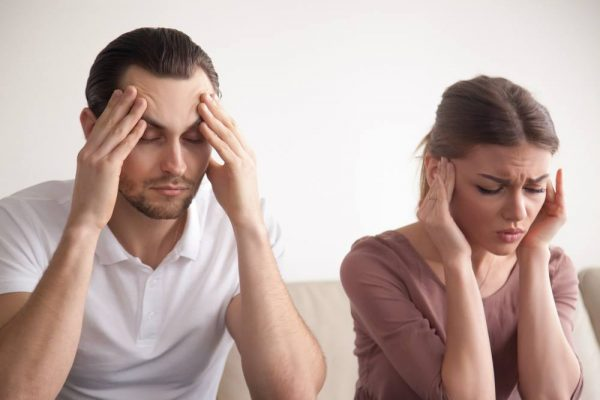 Brother and sister with hereditary headaches